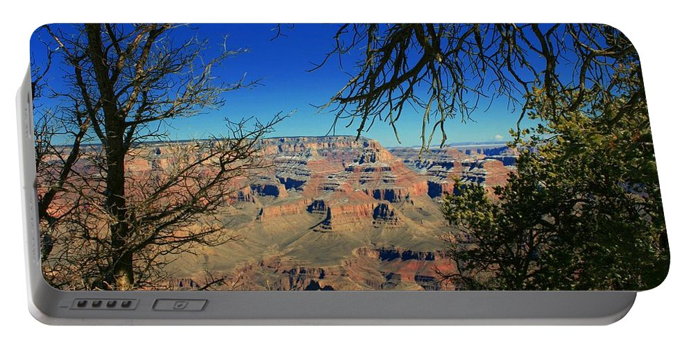 Grand Canyon Portable Battery Charger featuring the photograph Grand Canyon - South Rim 1 by Susan McMenamin