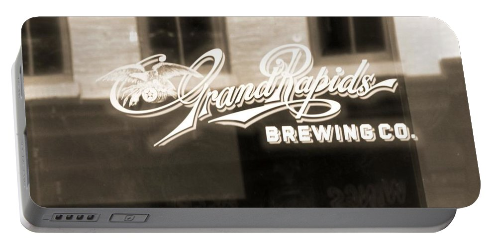 Grand Rapids Brewing Co Portable Battery Charger featuring the photograph Grand Rapids Brewing Co by Dan Sproul