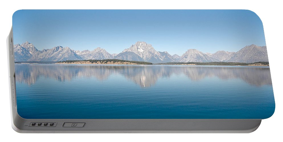 Grand Teton Portable Battery Charger featuring the photograph Grand Teton National Park by Sebastian Musial