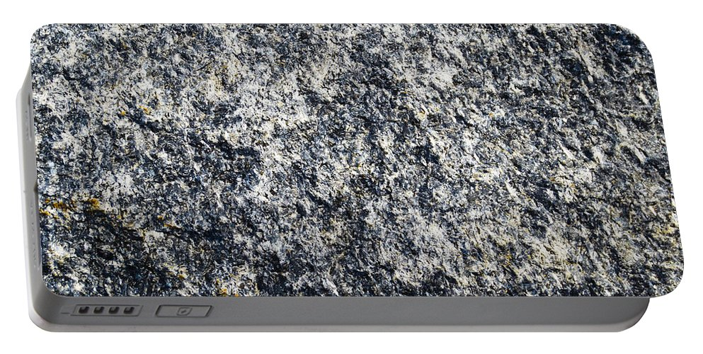 Granite Portable Battery Charger featuring the photograph Granite Abstract by David Pyatt