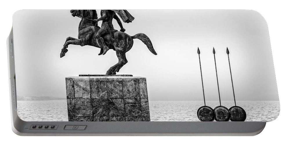 Alexander Portable Battery Charger featuring the photograph Great Alexander Greece by Sotiris Filippou