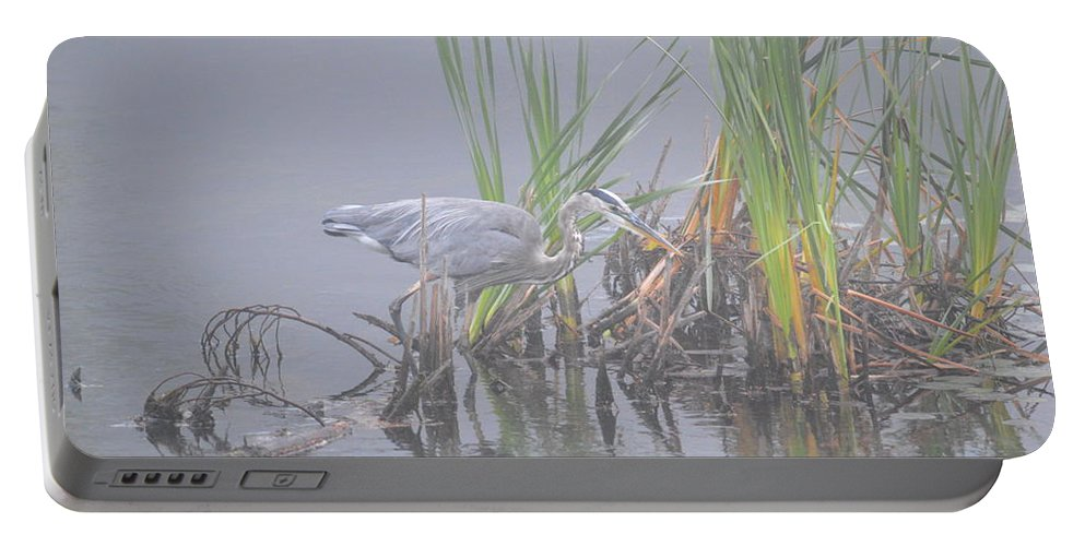 Great Blue Heron Portable Battery Charger featuring the photograph Great Blue Heron 2 by Thomas Phillips