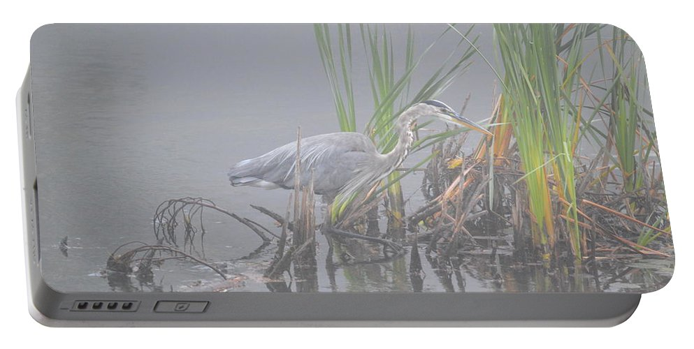 Great Blue Heron Portable Battery Charger featuring the photograph Great Blue Heron 4 by Thomas Phillips