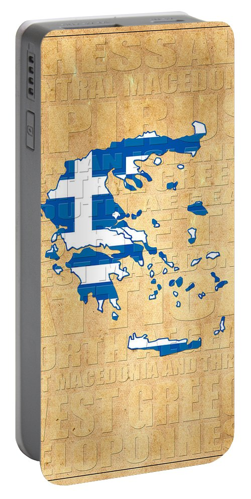 Greece Portable Battery Charger featuring the photograph Greece by Andrew Fare