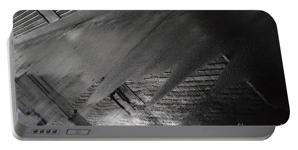 Grey Portable Battery Charger featuring the photograph Grey Areas by Brian Boyle