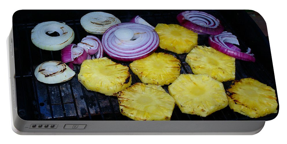 Food Portable Battery Charger featuring the photograph Grilled Veggies #1 by Ben Upham III