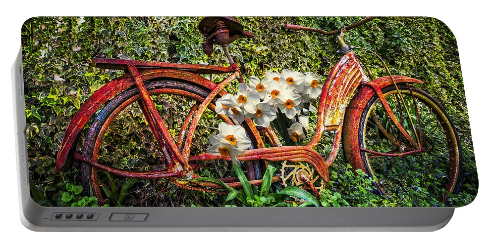 Appalachia Portable Battery Charger featuring the photograph Growing In The Garden by Debra and Dave Vanderlaan