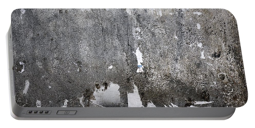 Background Portable Battery Charger featuring the photograph Grungy Concrete Wall by Dutourdumonde Photography