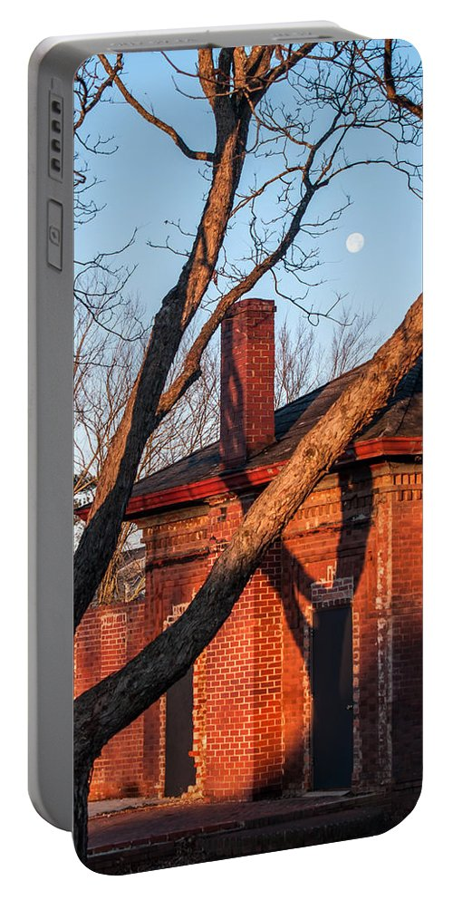 Cayce Portable Battery Charger featuring the photograph Guignard Brick Works-5 by Charles Hite