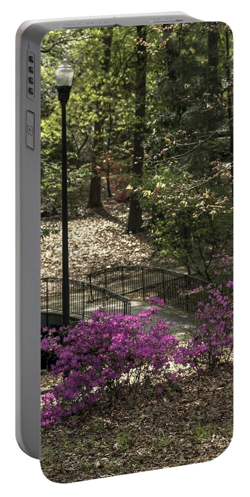 Guignard Park Portable Battery Charger featuring the photograph Guignard Park-2 by Charles Hite