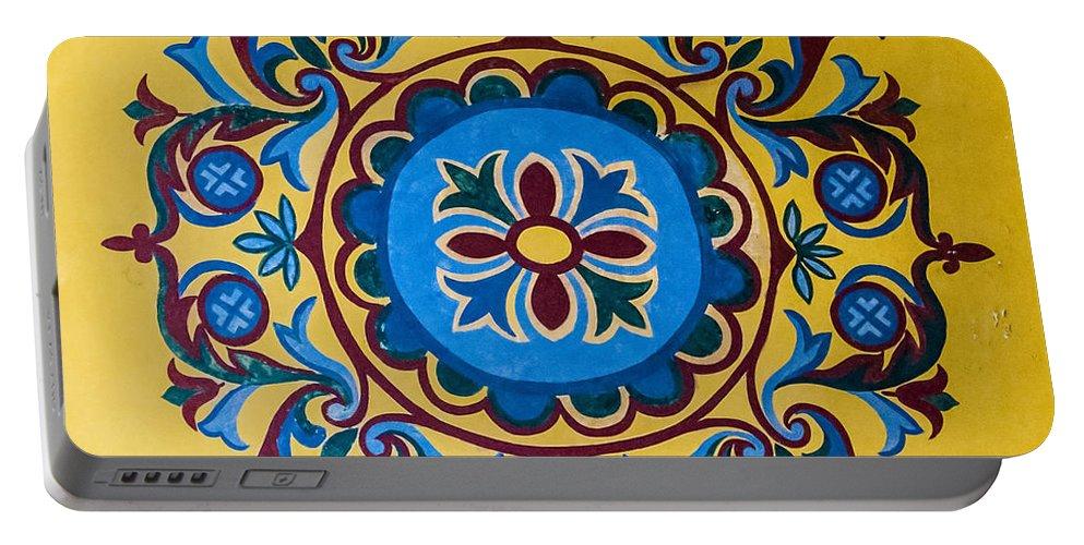 Hagia Portable Battery Charger featuring the photograph Hagia Sofia Interior 13 by Antony McAulay