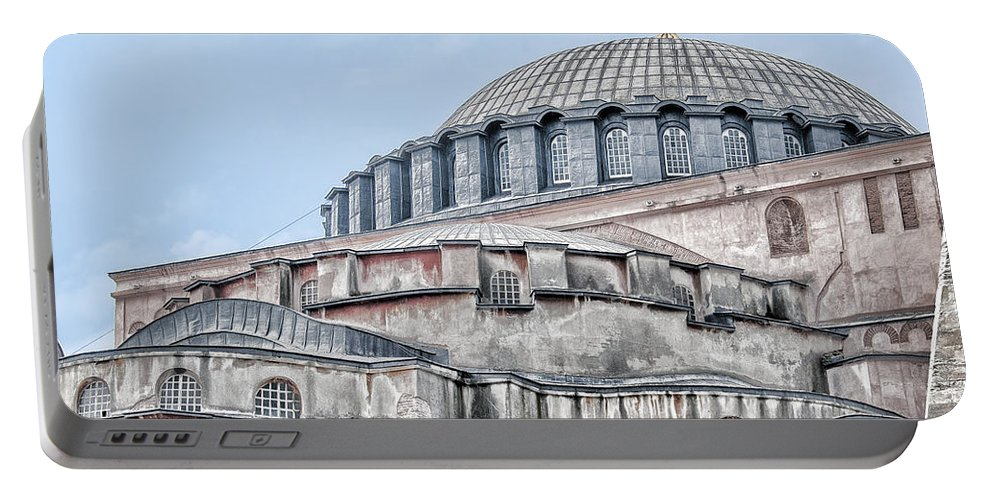 Turkey Portable Battery Charger featuring the photograph Hagia Sophia 18 by Antony McAulay