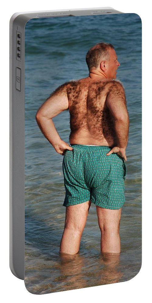 Man Portable Battery Charger featuring the photograph Hairy Ocean by Rob Hans