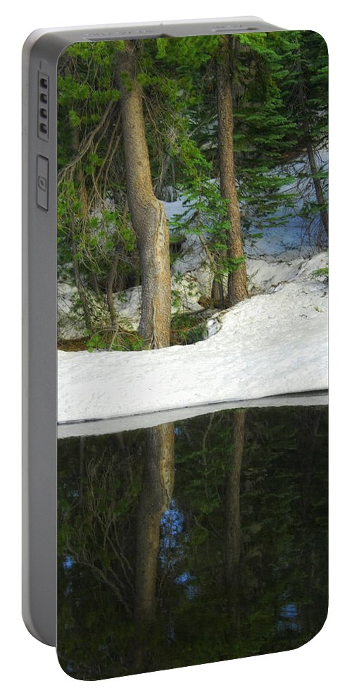 Landscape Portable Battery Charger featuring the photograph Half And Half by Donna Blackhall