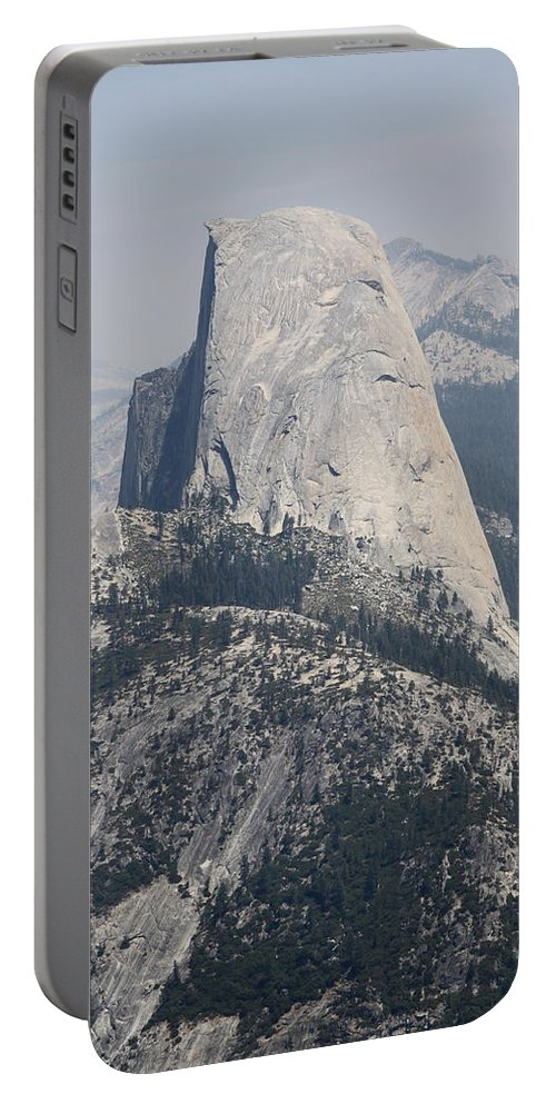 Glacier Point Portable Battery Charger featuring the photograph Half Dome Glacier Point by Christiane Schulze Art And Photography
