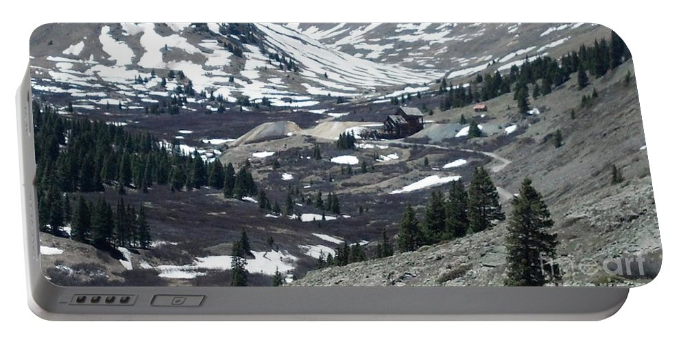 Colorado Portable Battery Charger featuring the photograph Hard Times by Jennifer Lavigne