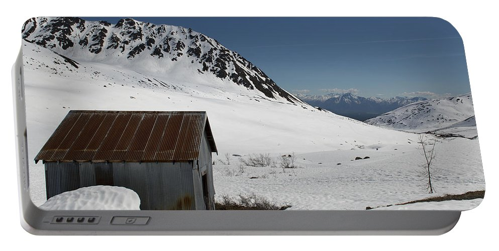 Building Portable Battery Charger featuring the photograph Hatchers Pass 2 by David Arment
