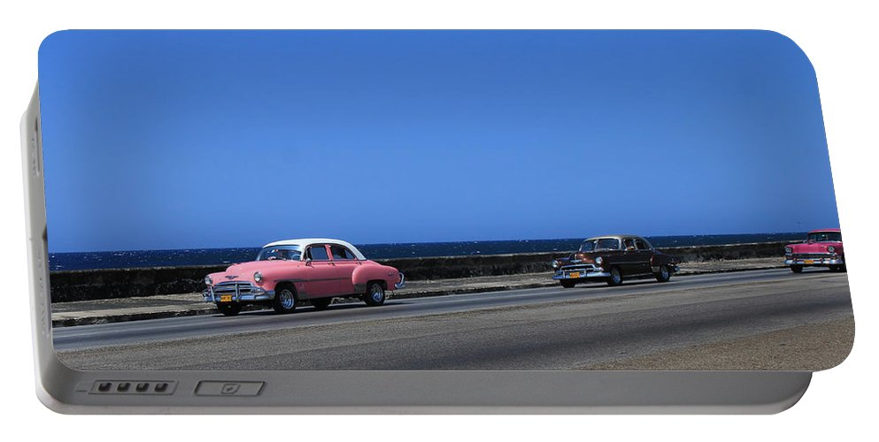 Havana Portable Battery Charger featuring the photograph Havana 44 by Andrew Fare