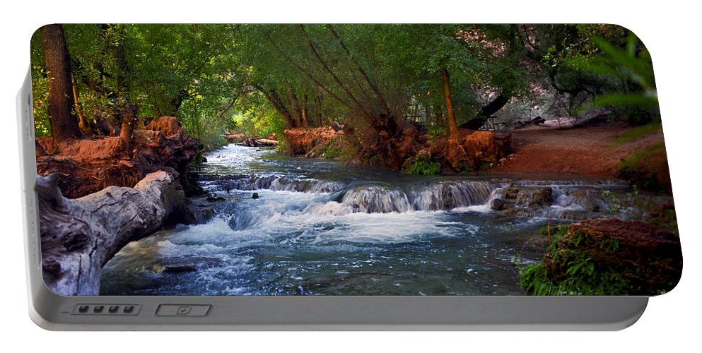 Arizona Portable Battery Charger featuring the photograph Havasu Creek by Kathy McClure