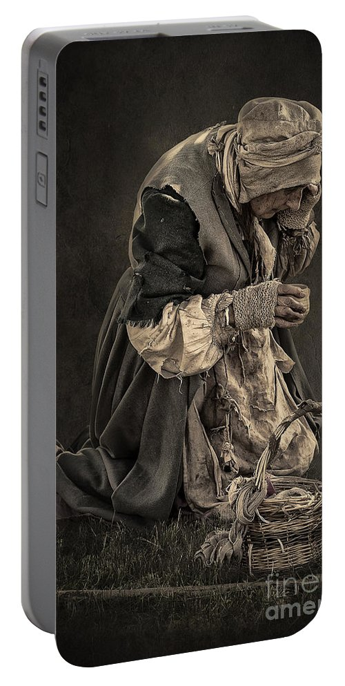 Portrait Portable Battery Charger featuring the photograph Having A Break by Svetlana Sewell