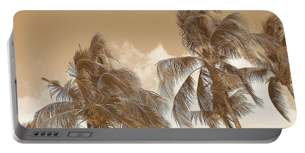 Landscape Portable Battery Charger featuring the photograph Hawaiian Breeze by Athala Carole Bruckner
