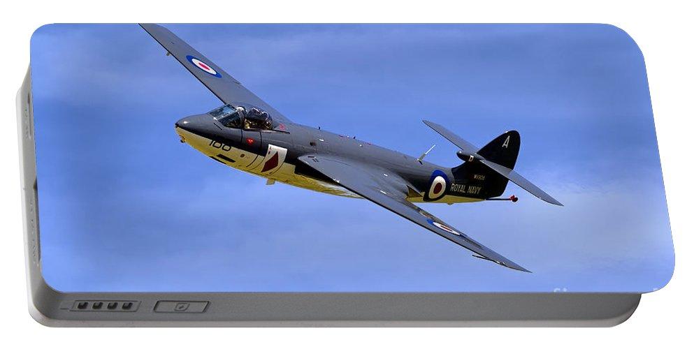 Hawker Sea Hawk Fga6 Portable Battery Charger featuring the photograph Hawker Sea Hawk Fga6 by Andrew Harker