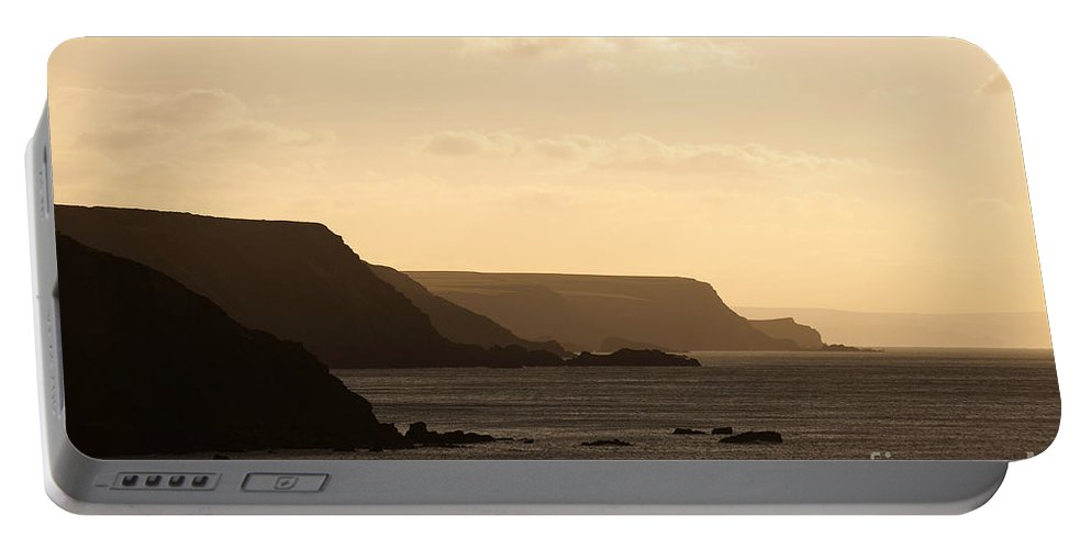 Headland Portable Battery Charger featuring the photograph Headland by Anne Gilbert