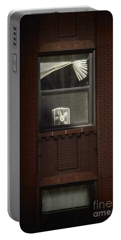 Window Portable Battery Charger featuring the photograph Heated by Margie Hurwich