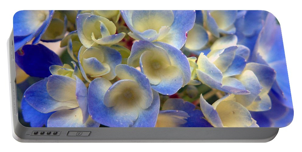 Floral Portable Battery Charger featuring the photograph Heavenly Blues by RC DeWinter