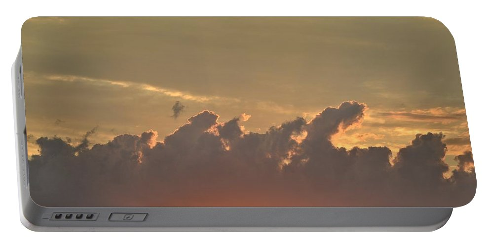 Clouds Portable Battery Charger featuring the photograph Heavenly Clouds by Tara Potts
