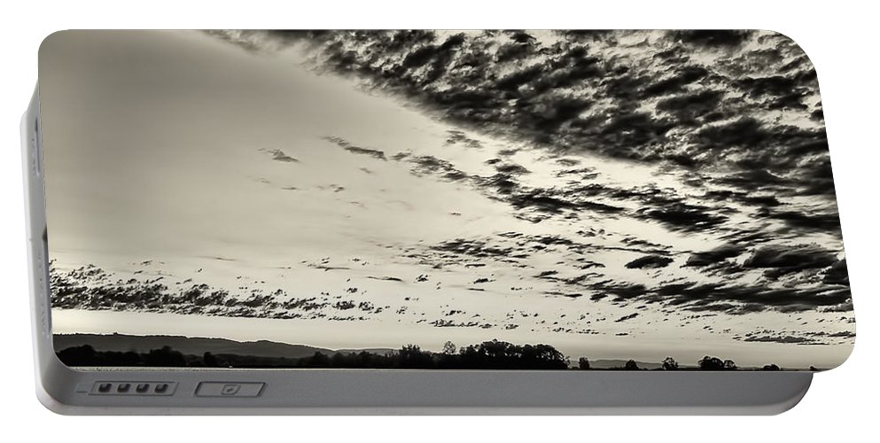 Sunset Portable Battery Charger featuring the photograph Heavenly Summer Sky by Don Schwartz