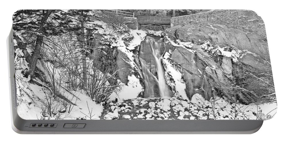 Helen Hunt Falls Portable Battery Charger featuring the photograph Come To Colorado And Fall In Love With Winter by Bijan Pirnia