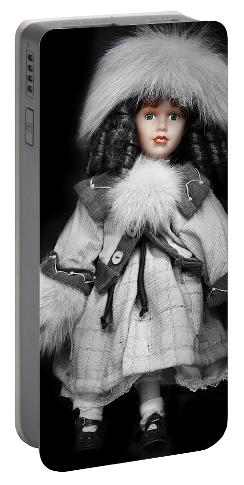 Doll Portable Battery Charger featuring the photograph Hello Dollie Doll by Carlos Diaz