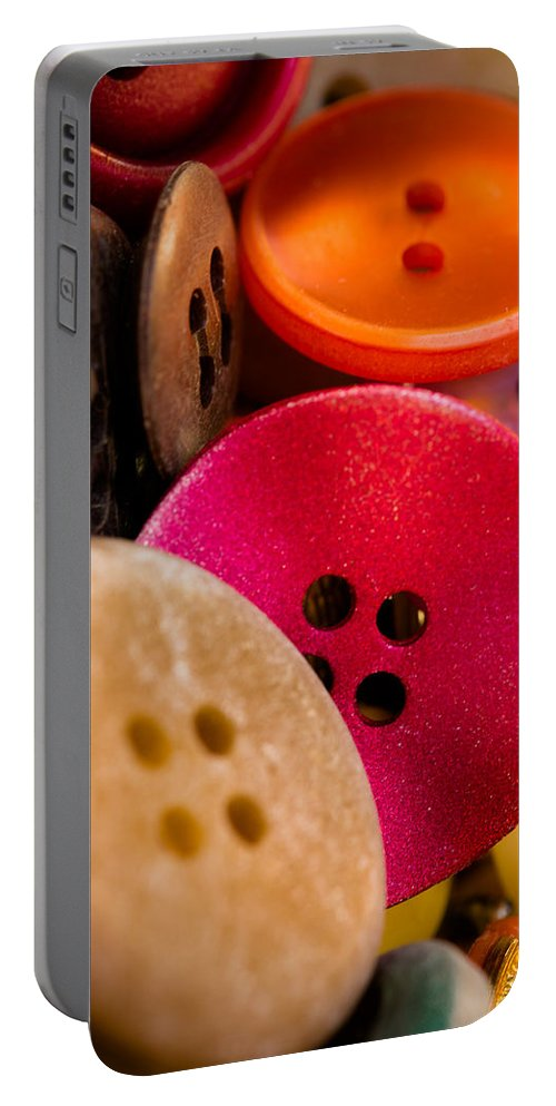 Hello Portable Battery Charger featuring the photograph Hello by Edgar Laureano