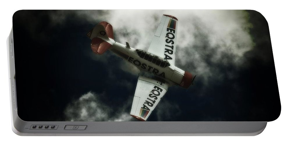 Aviation Portable Battery Charger featuring the photograph Here We Go by Paul Job