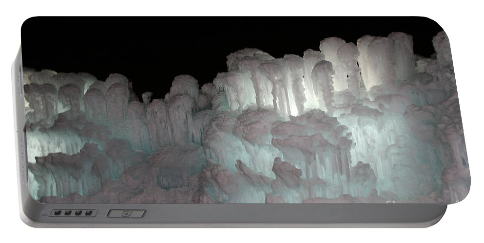 Ice Portable Battery Charger featuring the photograph High Aspirations by Susan Herber