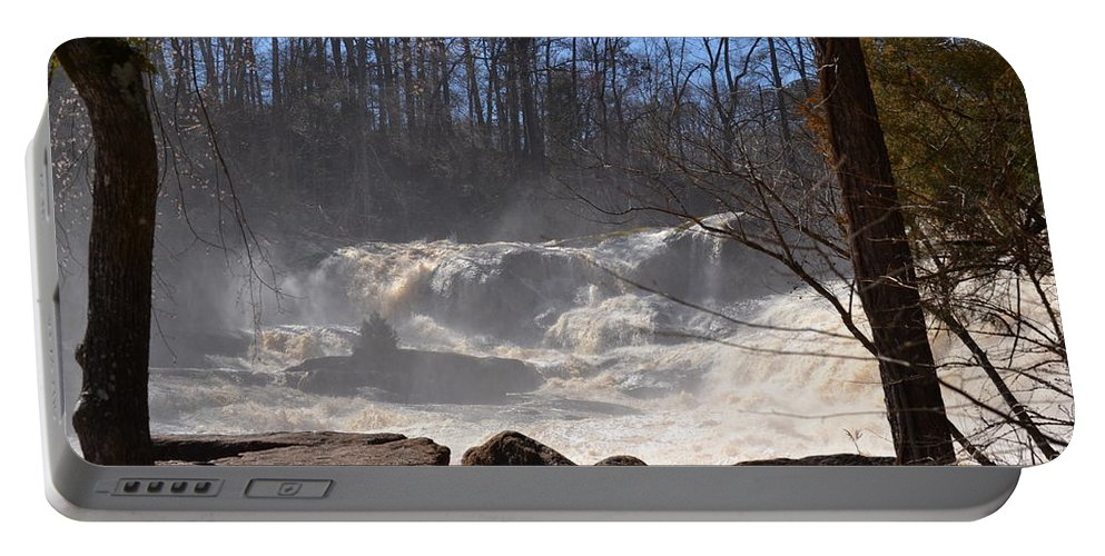 High Falls State Park Portable Battery Charger featuring the photograph High Falls State Park by Tara Potts