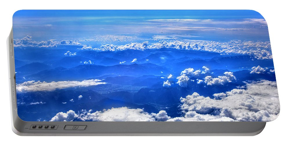 Sky Portable Battery Charger featuring the photograph High In The Sky by Michal Bednarek