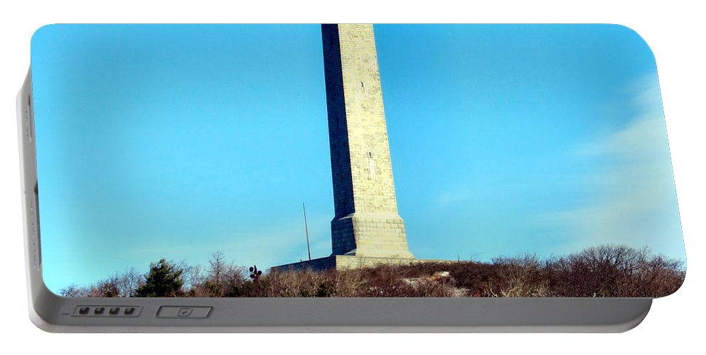 High Portable Battery Charger featuring the photograph High Point Monument Nj by Art Dingo