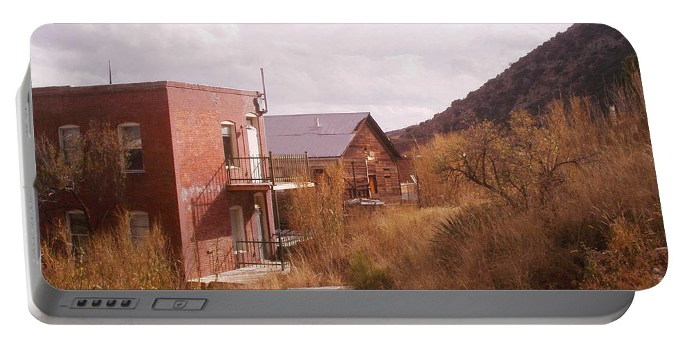 Bisbee Portable Battery Charger featuring the photograph Hillside by David S Reynolds