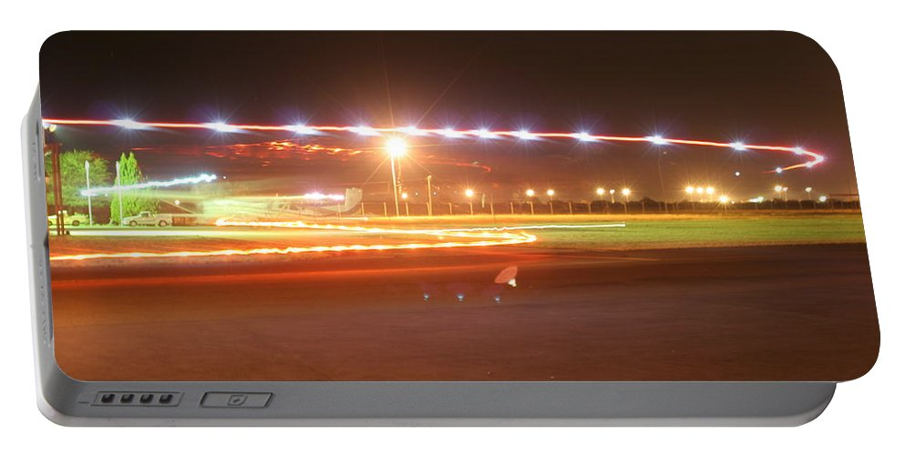 Lights Portable Battery Charger featuring the photograph Holiday Lights by Paul Job