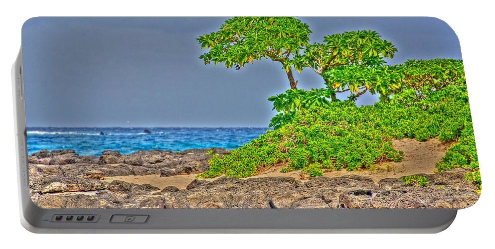 Honolulu Portable Battery Charger featuring the photograph Honolulu Hi 7 by Richard J Cassato
