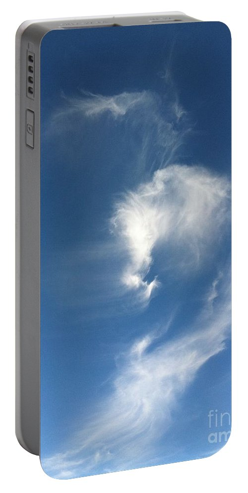Horse Portable Battery Charger featuring the photograph Horse Spirit Cloud by Krissy Katsimbras
