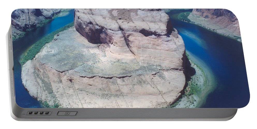 Horseshoe Bend Portable Battery Charger featuring the photograph Horseshoe Bend by Heather Kirk