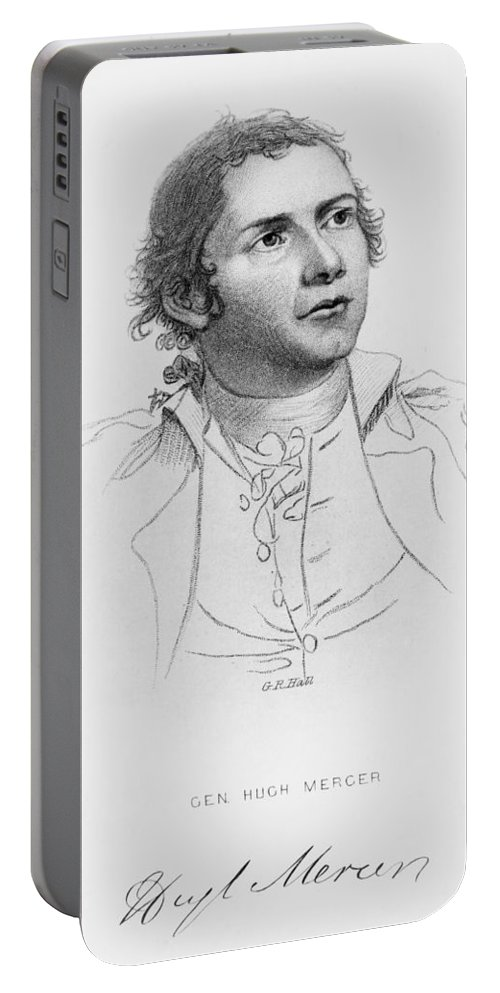 18th Century Portable Battery Charger featuring the photograph Hugh Mercer (1726-1777) by Granger