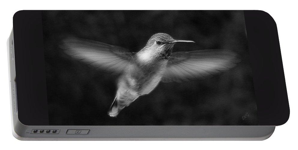 Bird Portable Battery Charger featuring the photograph Hummingbird by Ben and Raisa Gertsberg