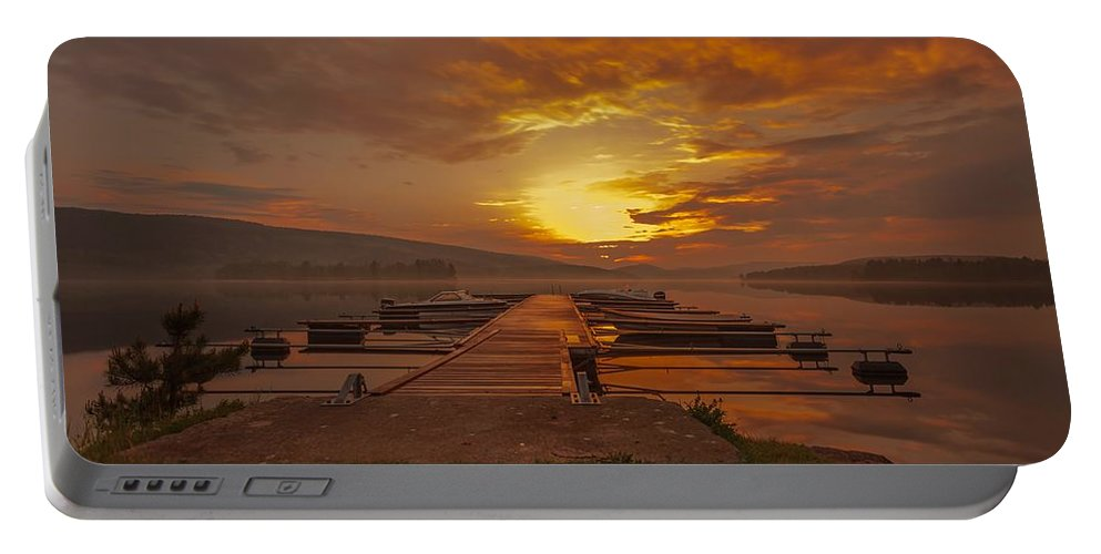 Landscape Portable Battery Charger featuring the photograph I Can Only Imagine by Rose-Maries Pictures