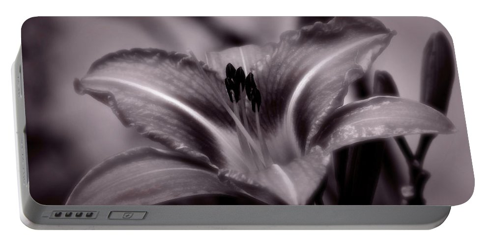 Lily Portable Battery Charger featuring the photograph I Dream Of You by Jeanette C Landstrom