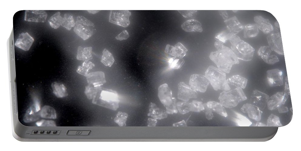 Diamonds Portable Battery Charger featuring the photograph I Dreamed Of Diamonds 2 by Riad Belhimer