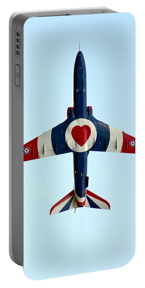 Flight Portable Battery Charger featuring the photograph I Love Flying by Gary Eason